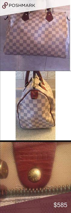 Louis Vuitton bag Worn ( $400 through MERC ) makeup smurge inside bag Louis Vuitton Bags