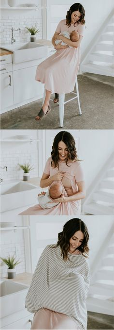 12 Comfortable, affordable + cute nursing friendly dresses by ROOLEE Mom