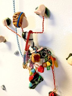 Rock Climbing Figure Trad FULL RACK  Mini and by CruxCrafts Climbing Workout, Bracelet Knots, Rock Climbing, 5th Birthday, Handicraft, Projects To Try, Christmas Ornaments, Paracord, Holiday Decor