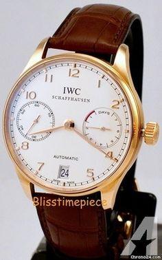 IWC Portuguese 7 Days Rose Gold