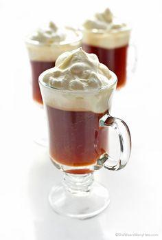 Irish Coffee Recipe   http://shewearsmanyhats.com/irish-coffee-recipe/