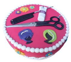 Hairdresser cake  :) (Another great one for my baby sister) <3