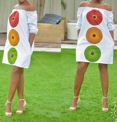 Beautiful Plain And Patterned Ankara Designs 2019 Ankara Dress Designs, African Print Dress Designs, African Print Dresses, African Print Fashion, African Design, African Fashion Dresses, African Dress, Ghana Fashion, Africa Fashion