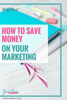 The costs add up easily when you are in small business so anywhere you can save a dollar is a bonus. In this blog I will share with you my best marketing money saving tips. #onlinemarketing #moneysavingtips #marketingstrategy
