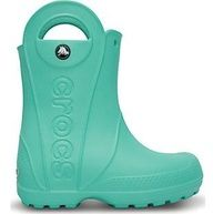 Crocs wellies with handles!