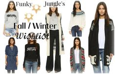 After the Shopping Break - Fall / Winter Knit Wish List | Funky Jungle --- Plus, a Big Sale at Shopbop.