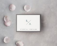 Monogrammed letterpress Save The Date with embossed effect Pocketfold Invitations, Luxury Wedding Invitations, Letterpress Wedding Invitations, Letterpress Printing, Monogram Wedding, Personalized Wedding, Classic Wedding Stationery, Letterpress Save The Dates, Wax Stamp