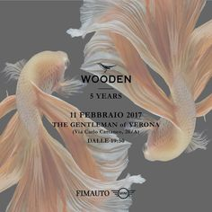 This weekend we are joining @wooden_store 5 years party. See you on Saturday night at @thegentlemanofverona and Sunday all day at Wooden Verona. We will be customizing our wooden iPhone cases. See you there