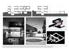 Maison à bordeaux- rem koolhaas   plans