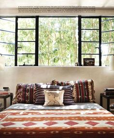 steel frame windows, designer pamela shamshiri for house beautiful