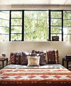 steel frame windows, designer pamela shamshiri for house beautiful