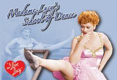 Lucy's School of Dance Postcard   LucyStore.com