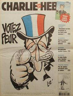 Charlie Hebdo - # 774 - 18 Avril 2007 - Couverture : Luz