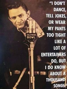 Love me some Johnny Cash