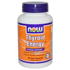 Now Foods, Thyroid Energy, 90 VCaps ... VOLUME DISCOUNT