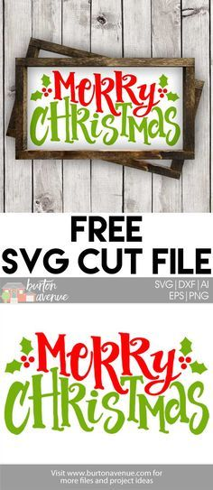 Free Christmas SVG Files for Silhouette and CricutThe post Free SVG Cut File & Merry Christmas w/Holly Berry appeared first on Dekoration. The Grinch, Christmas Svg, Christmas Projects, Xmas, Merry Christmas Images, Merry Christmas Fonts, Merry Christmas Sign Printable, Christmas Vinyl Crafts, Cricut Christmas Ideas