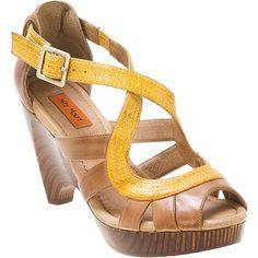 Brown/Turquoise Navy/Tan Cognac Yellow Red/Tan Black Miz Mooz Women's Petra High Heel Sandal shoes