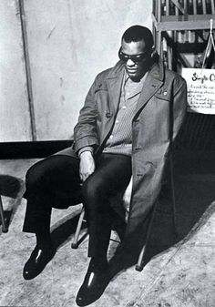 Ray Charles by Jim Marshall - Longshoreman's Hall, San Francisco 1961