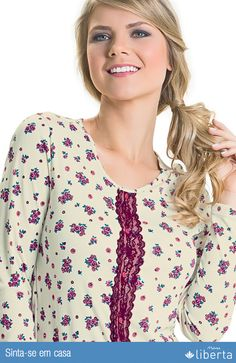 Pijamas Malwee Liberta são sinônimos de leveza, conforto e aconchego.
