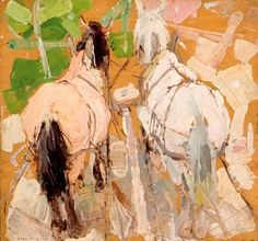 Gaspard, Leon (1882-1964) - Russian Horses (Private Collection) by RasMarley, via Flickr