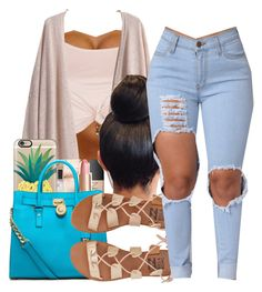 """""""School Today"""" by shamyadanyel ❤ liked on Polyvore featuring Topshop, Casetify, Michael Kors and Billabong"""