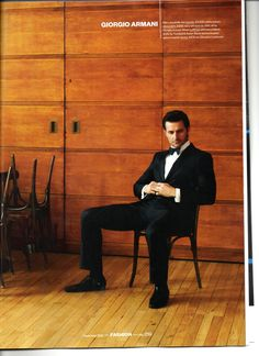 Richard Armitage - Esquire photoshoot