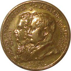 Moedas do Brasil - Séries Foreign Coins, Old Money, Rare Coins, Gold Coins, Fountain Pen, Brazil, Internet, Stamp, World Coins