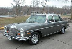 1969 Mercedes Benz 300SEL 6.3.  Love me some vintage Mercedes.