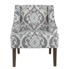 Best Coryn Fabric Accent Chair Quick Ship Accents 400 x 300