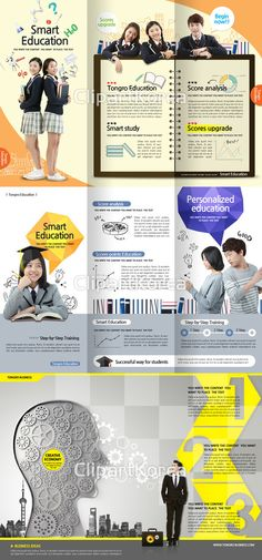 #psd #photoshop #template #Business #Yellow #publishing #editorial #design #concept #graph #high school #education #brochure