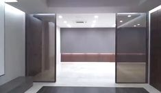Professional for Interior automatic sliding door operato Smart door with innovative linear magnetic drive sliding door opener. Use color changer glass for personal privacy. Professional for Interior automati. Automatic Sliding Doors, Sliding Patio Doors, Pivot Doors, Smart Home Design, Modern House Design, Smart Glass, Door Design Interior, Design Living Room, Office Interiors