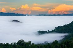 View from Top of Kaeng Krachan National Park, Phetchaburi Province, Thailand