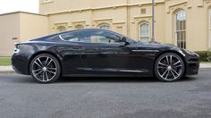 Aston Martin DBS Carbon Black driven full road test car review - BBC Top Gear - BBC Top Gear