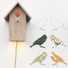 Vogelhaus-Lampe - Inke | MyLittleRoom
