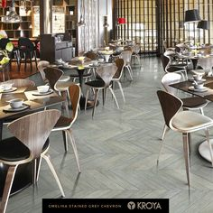 Grey Chevron, Floors, Dining Chairs, Collections, Interiors, Room, Furniture, Design, Home Decor