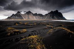 Stokksnes Beach, Iceland