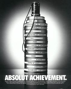 Absolut Vodka Ads | Absolut Achievement