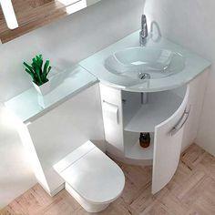 Built in sink and vanity unit
