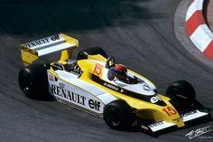 1979 GP Monaco (Jean Pierre Jabouille) Renault RS10