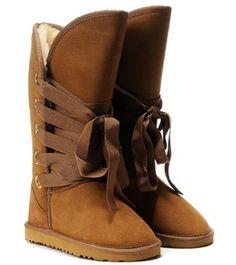 UGG Roxy Tall Chestnut boots