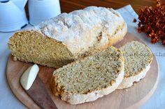 Pão integral de iogurte rápido | Receitas e Temperos
