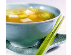 Sopa miso para fortalecer el intestino