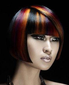 Hair color panels