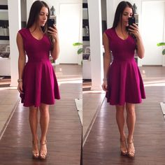 Purple Dress Ladylike purple dress with gold zipper on he back. This dress is stretchy and perfect for a special occasion. Bran new with tags Bar III Dresses
