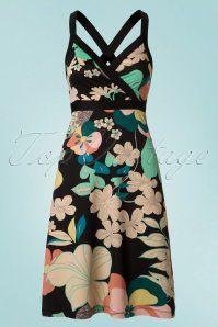King Louie Cross Back Floral Dress 106 14 20294 20170428 0001W
