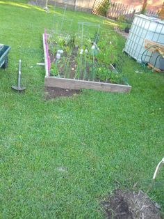 I decided to extend my vegetable garden last week, so I thought I would take the opportunity to make a quick how-to on putting one toget...