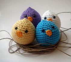 Crochet chickies