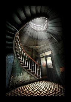 Siempre hay un rayo de luz. #escaleras
