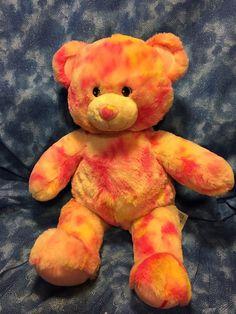 "BABW / Build a Bear Workshop STRAWBERRY BLIZZARD Bear 17"" Plush Toy"