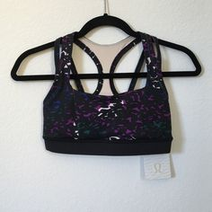 ‼️SALE‼️ Lululemon Bra Lululemon Bra Racerback and straight back straps, pockets for removal of insert cups. Super cute secure support. PRICE FIRM lululemon athletica Intimates & Sleepwear Bras